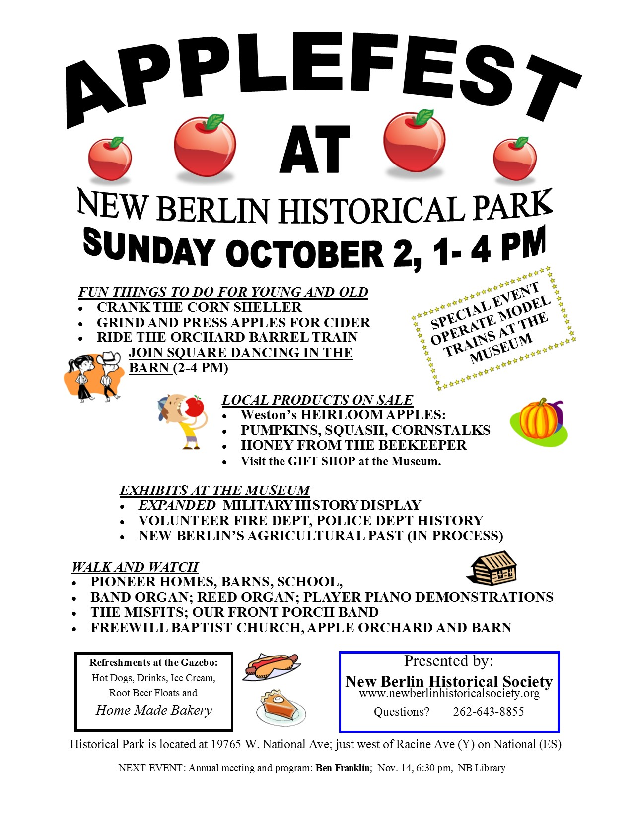 Applefest 2016 flyer