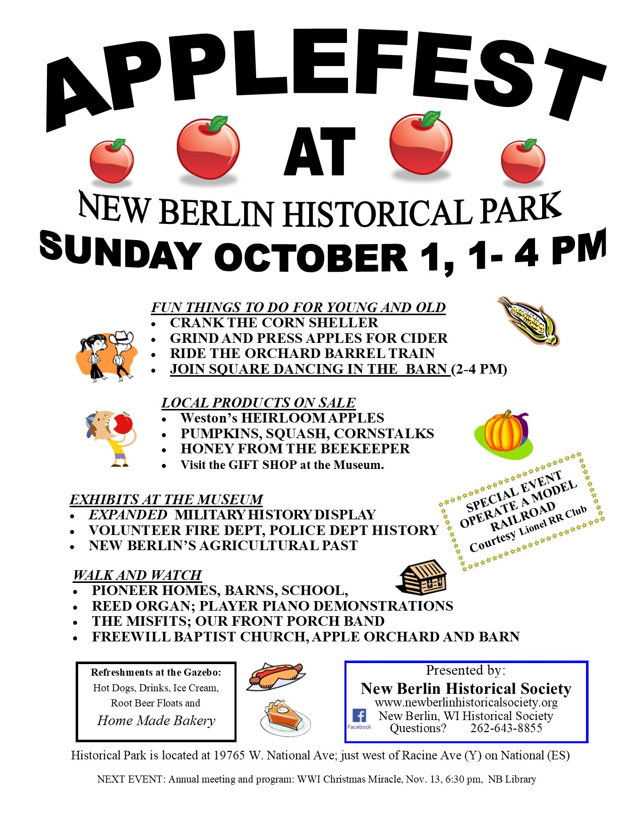 Applefest 2017 flyer